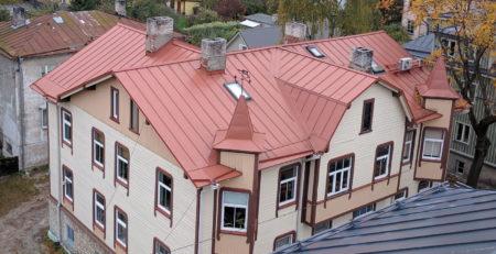 Plekk-katuse hind