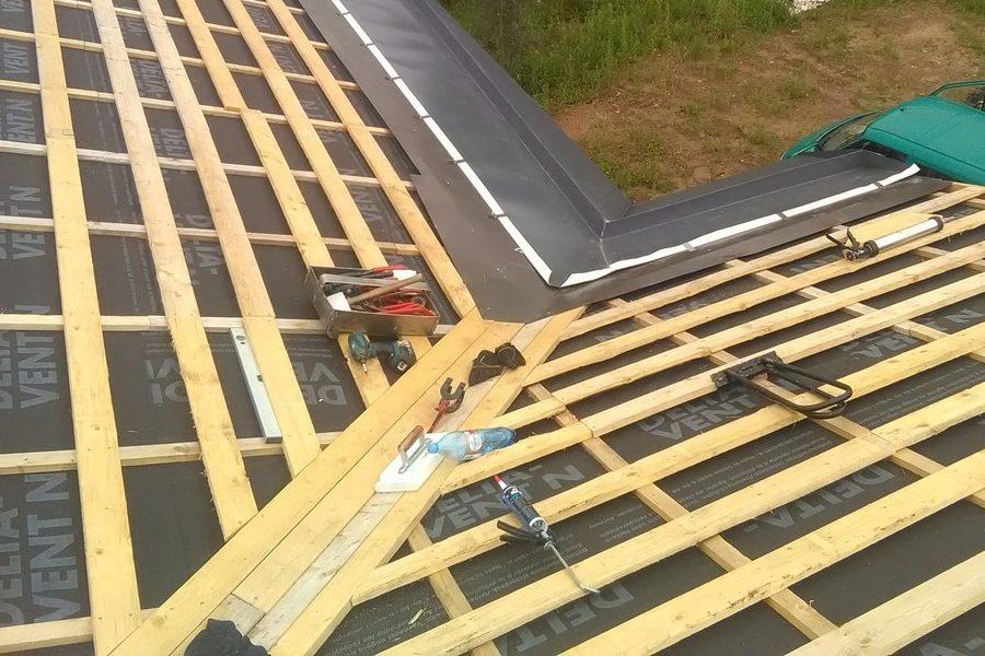 Valtsplekk katuse ehitamine TH Katused OÜ
