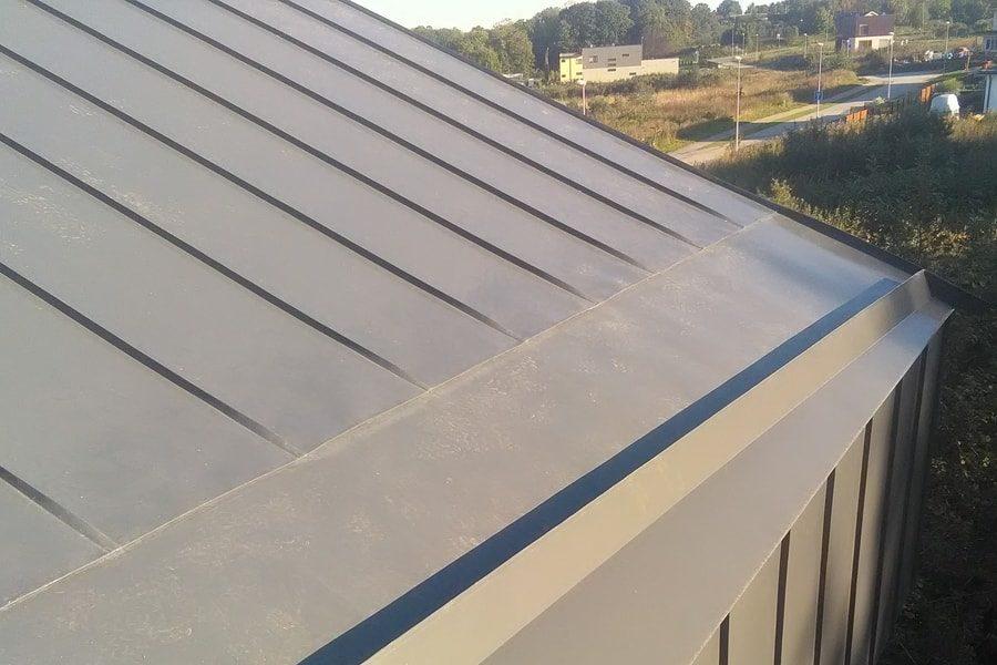 Valtsplekk-katus valmis katus