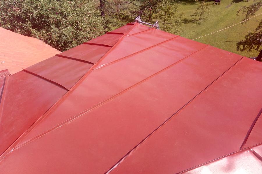 Vintskapi katuse ehitus 6