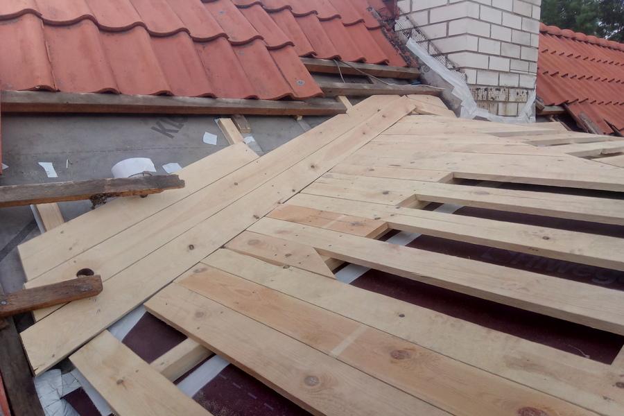 Vintskapi katuse ehitus